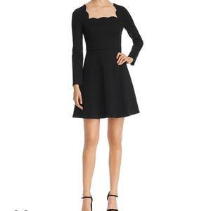 Kate Spade Scallop Ponte Dress NWT XL